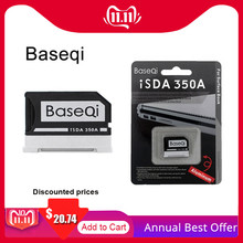 Original Baseqi Aluminum MiniDrive MicroSD Card Adapter For Surface book Lenovo Yoga Dell XPS&Asus Zenbook Flip Laptop 13.5 inch