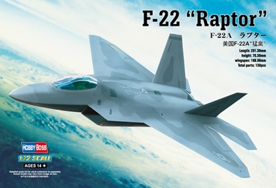 1:72 American Advanced F22A Raptor Stealth Fighter Assembly Plane Model