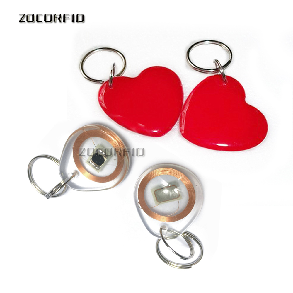 Perfect Keychains Token Tag MF NFC RFID ISO14443A Smart Access Control System 1k IC