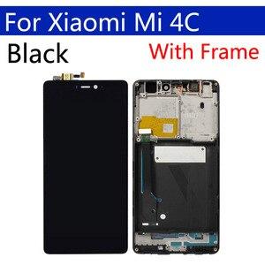 Image 3 - Дисплей 5,0 дюйма для Xiaomi Mi4C, ЖК дисплей с сенсорным экраном и дигитайзером с рамкой, оригинальная замена для Xiaomi Mi 4c, дисплей в сборе