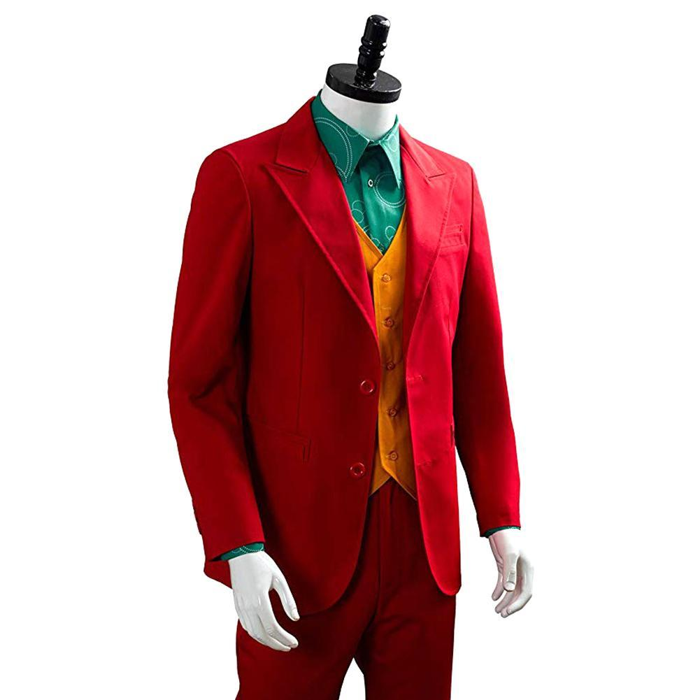 Film Joker Joaquin Phoenix Arthur Fleck Cosplay Costume costumes Costume d'halloween Dit pour les hommes garçons