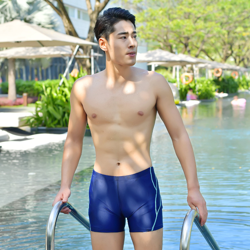 Sea Bbot New Style MEN'S Swimming Trunks Men Boxer Casual Swimming Trunks 8105
