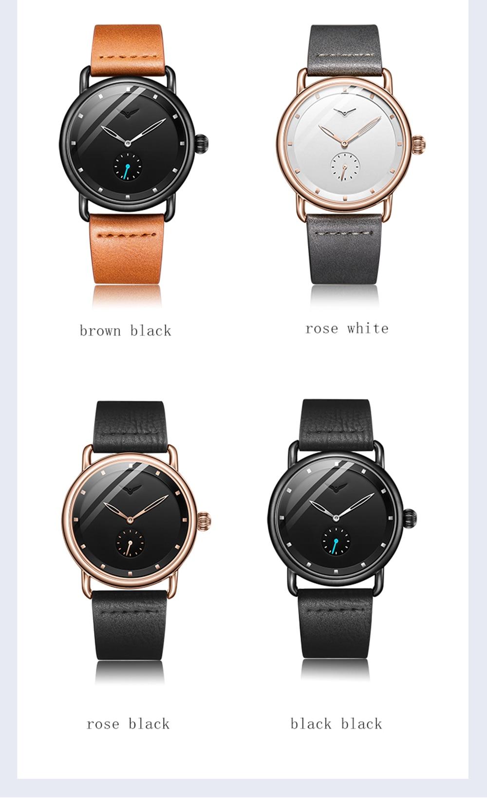 Hd4802c066ff94b9a895ebf9002a82e29r ONOLA top brand leather men watches clock fashion sport simple casual waterproof Wrist watch men relogio masculino
