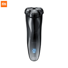 Xiaomi Enchen BlackStone 3 Electric Shaver 3D Triple Floating Blade Heads Shaving Razors Men Beard Trimmer USB Rechargeable IPX7(China)