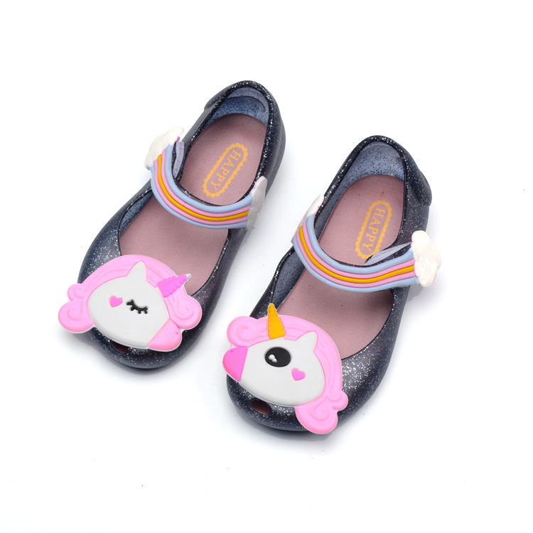 Girls' Sandals 2019 New Cute Mini Melissa Sandals Girls PVC Flat With Jelly Shoes Princess Party Shoes Toddler Girl Shoes Size