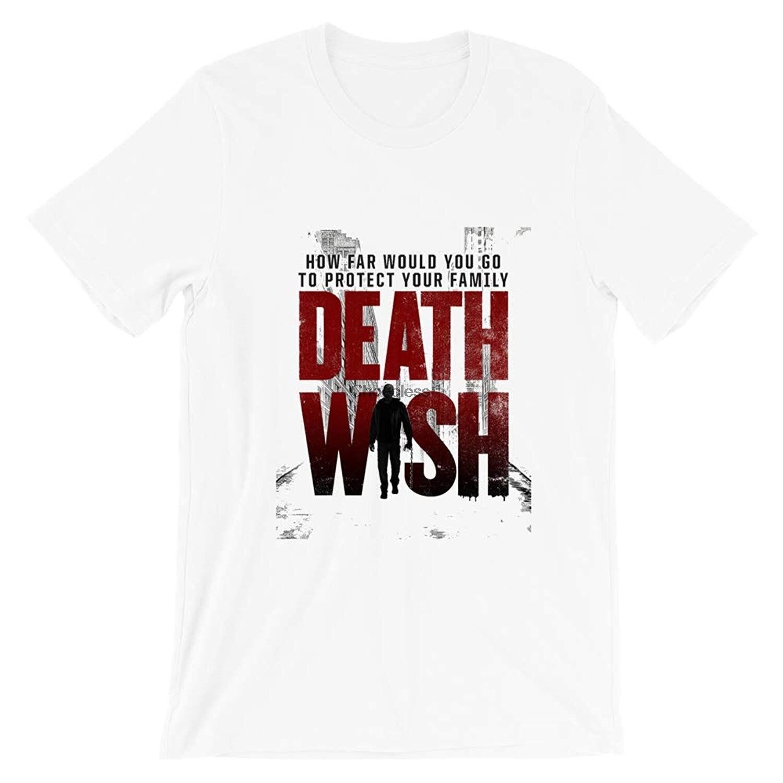 Футболка унисекс для мужчин и женщин, винтажный подарок с изображением Брюса Виллиса, Дина Норриса пола керсея из фильма «Смерть желание см...