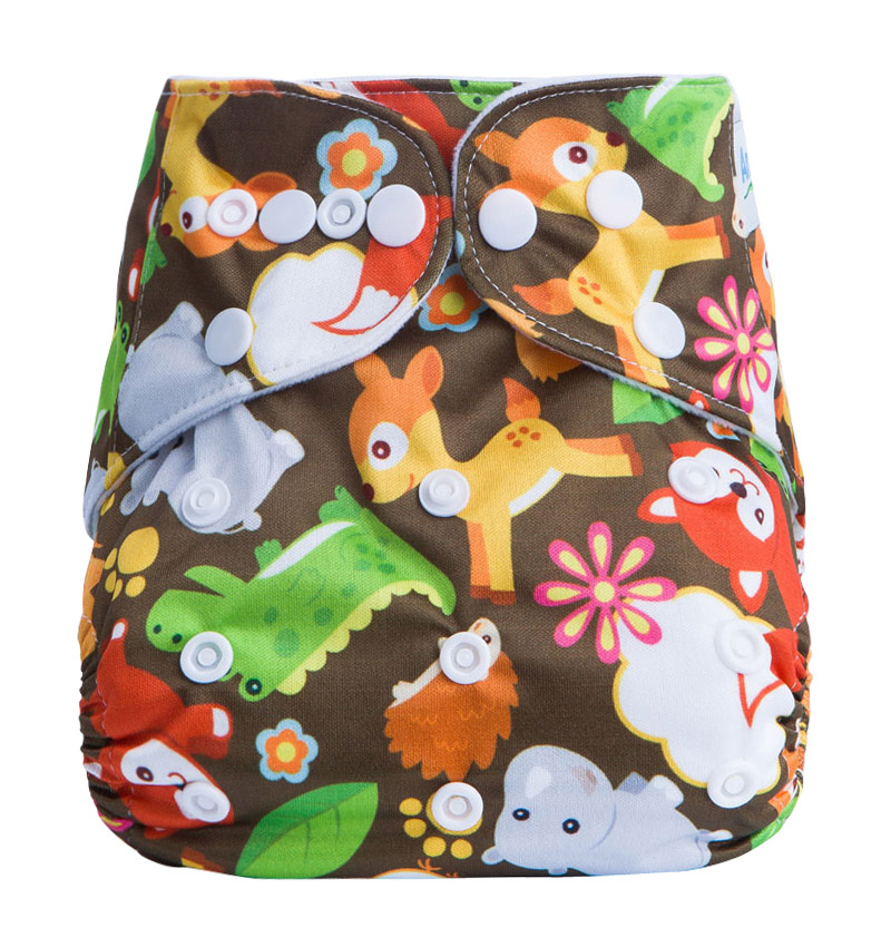 Organic Cloth Diapers Wholesale Prefold Baby Cloth Reusable Diapers Pants Waterproof Nappies G6