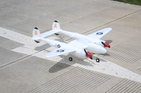 RC warbird flugzeug 1 2 m spannweite P38 EPO Doppel motor weiß farbe-in RC-Flugzeuge aus Spielzeug und Hobbys bei