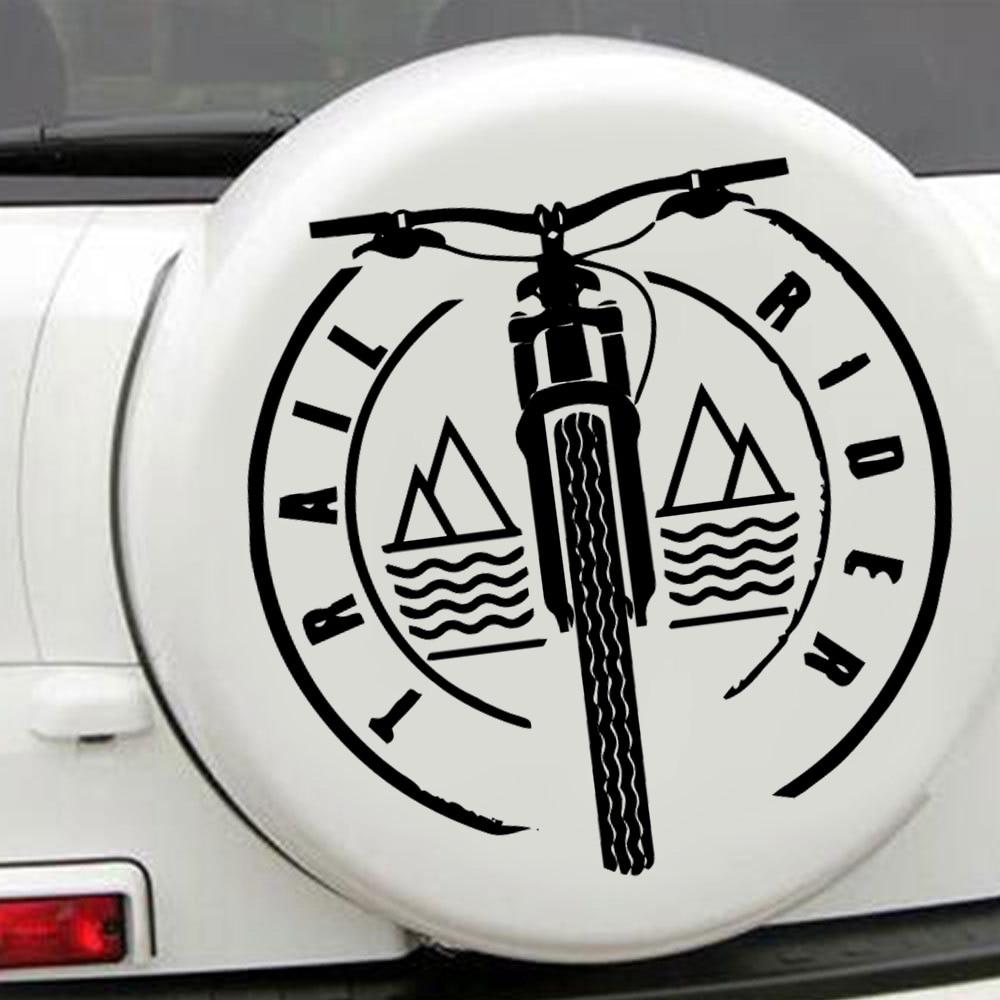 Красочные взять углеродный руль для велосипеда Стикеры Творческий виниловые Стикеры на автомобиле Стикеры s и наклейки окна Стикеры авто-С...