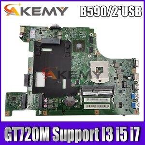 Новый Для Lenovo B590 B580 V580c Материнская плата ноутбука испытания материнская плата LA58 MB 11273-1 48.4TE01. 011 поддержка I3 i5 i7 2 * usb GT720M 1 Гб