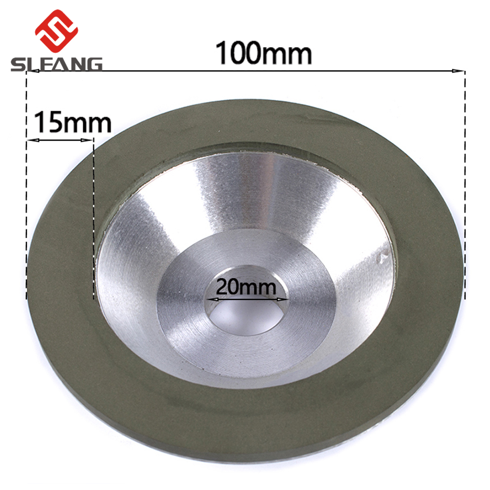 """4""""/100mm Diamond Grinding Wheel Cup Cutting Disc For Milling Cutter Tool Sharpener Grinder Accessory 1Pc"""