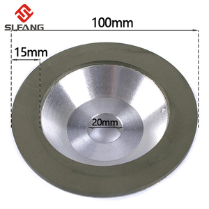 """4""""/100mm Diamond Grinding Wheel Cup Cutting Disc For Milling Cutter Tool Sharpener Grinder Accessory 1Pc(China)"""