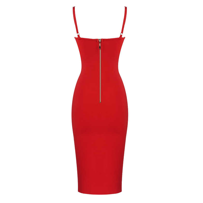 2019 Vrouwen Elegante Zomer Jurk Sexy Vetersluiting Mesh Paars Zwart Rood Bandage Dress Designer Celebrity Vintage Elegante Feestjurk