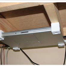 MacBook Pro Retina Holder Under Table Rack Under Desk Mount Desktop Bottom Bracket Accessories Free Screws Save Space 3DPrinting