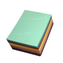 Флуоресцентная цветная печатная бумага 80 г цвет A4 копировальная бумага для детского сада Руководство DIY оригами Бумага для резки черновой бумаги