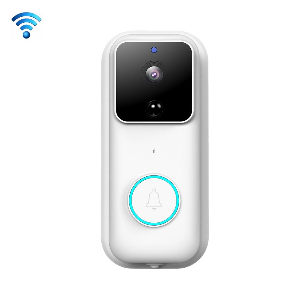 Intelligent Visual Wireless Doorbell Camera Remote Video Two-way Call PIR Motion Detection Night Vision Super Long Standby