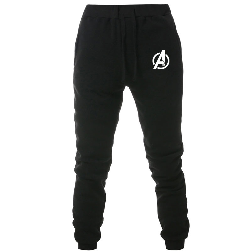 Marvel Sport Jogging Pants Men Women Sweatpants Running Pants Men Joggers Trackpants Fleece Pants Avengers Bodybuilding Trouser