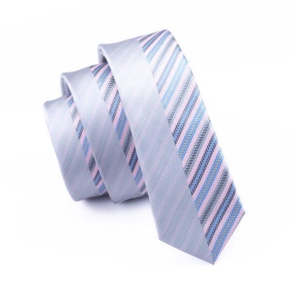 5,5 см Модный тонкий галстук золотого и оранжевого цветов, Шелковый жаккардовый галстук для мужчин, свадебные, вечерние, повседневные, Прямая поставка - Цвет: HH-256