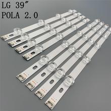 """جديد الأصلي كيت 8 قطعة LED الخلفية قطاع ل LG 39LN5300 39LN5400 HC390DUN VCFP1 21XX innotek POLA2.0 39 """"A/B نوع بولا 2.0 39"""