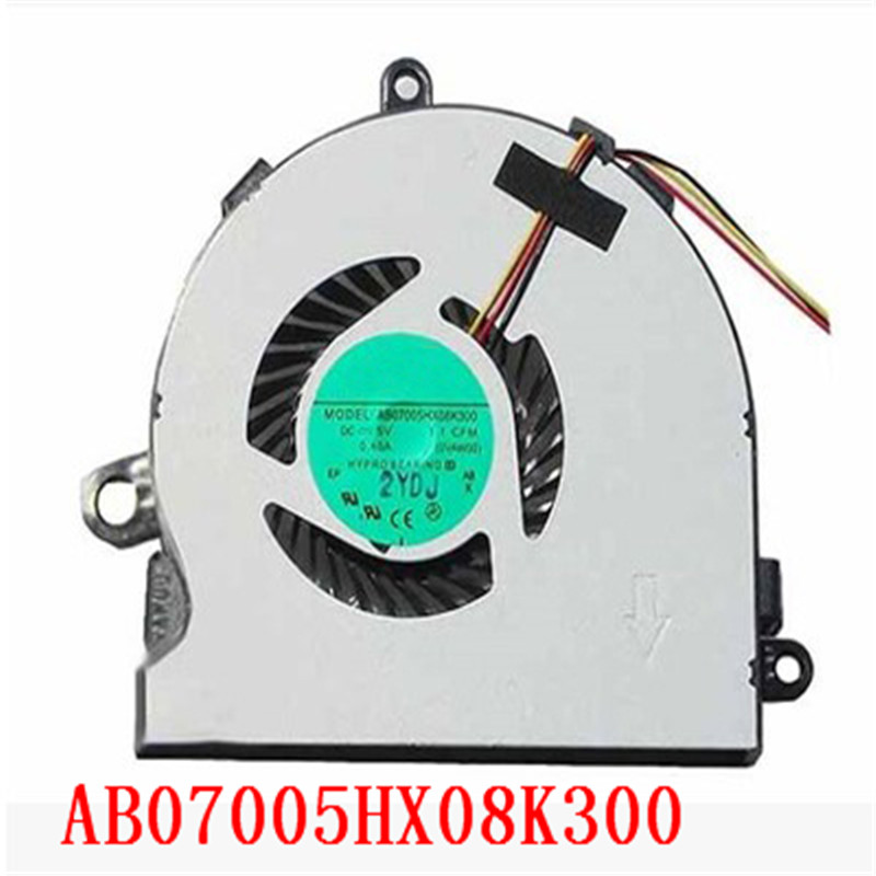 Вентилятор DFS470805CL0T FC2T 74X7K AB07005HX08K300 для процессора DELL INSPIRON 15R 3521 3721 5521 5535