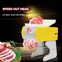 HR-70 Type Slicer Small Boutique Electric Shredder Commercial Small Electric Slicer Household Automatic Fast Cutting Diced Meat