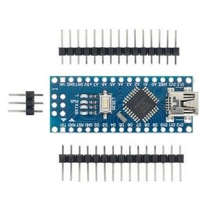 Image 2 - 무료 배송! 10PCS 나노 V3 3.0 컨트롤러 호환 나노 CH340 USB 드라이버 없음 케이블 24l01 나노 v3.0 Arduino 용