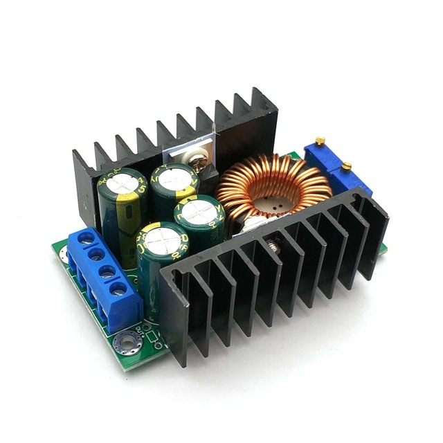 DC/CC Adjustable 0.2  9A 300W Step Down Buck Converter 5 40V To 1.2 35V Power Supply Module LED Driver for Arduino