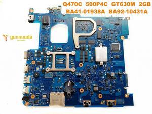 Image 2 - Original for Samsung  Q470C laptop motherboard  Q470C  500P4C  GT630M  2GB  BA41 01938A  BA92 10431A tested good free shipping
