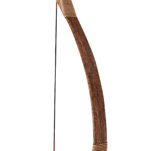 Image 5 - Huntingdoor Geleneksel Olimpik Yay Okçuluk Avcılık El Yapımı Longbow kahverengi deri Açık Çekim Moğol At Yay dizeleri