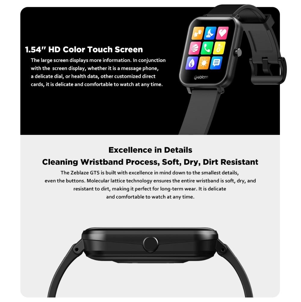 Zeblaze GTS smartwatch 7