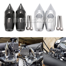 """1"""" 25MM Motorcycle Handlebar Risers For Harley Sportster Heritage Softail Road Glide Road King Street Glide Tour Glide"""