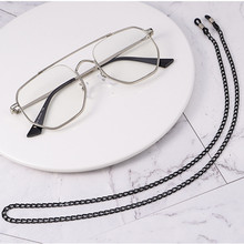2020 New Glasses strap Eyeglass metal Chain Reading Glasses Cord Holder Neck Strap Rope Gift Fashion sunglasses accessories cheap Unisex 70cm QGQ363 Copper Solid