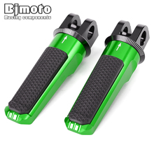 Pair Front Foot Pegs For KAWASAKI Z750R Z800 Z1000 Z1000R ZX 6R 636 ZX 10R Motorcycle Accessories Footrest Rider Pedal