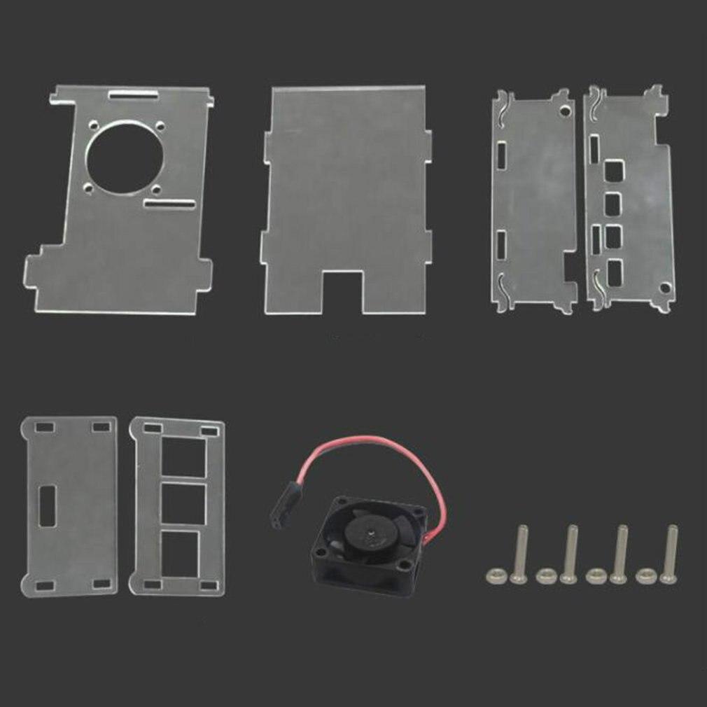 /& Camera Protective Case Cover for Raspberry Pi 3B PiShell White /& Green Case