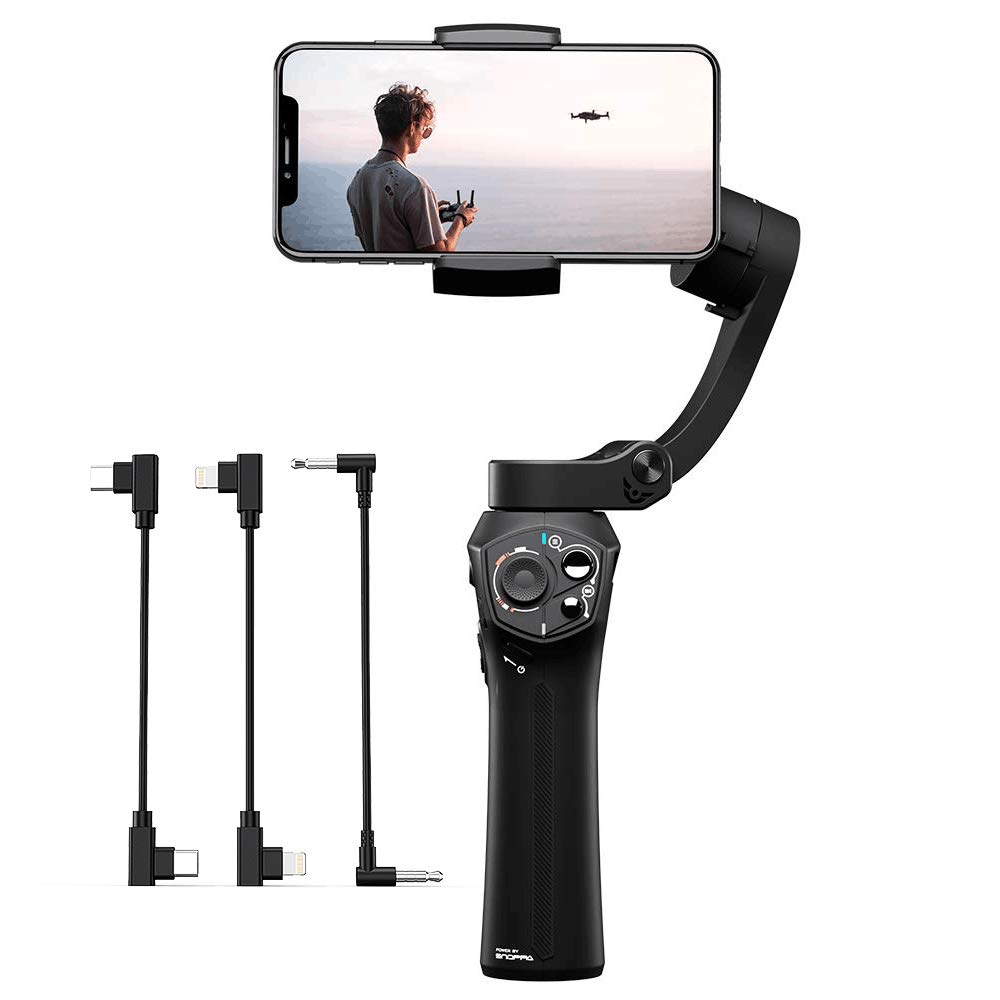 Closeout DealsSnoppa Gimbal-Stabilizer Smartphone Payload-Pocket Gopro Pocket-Sized Foldable Handheld