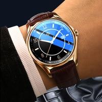 Reloj inteligente E-16 para hombre y mujer, pulsera con Dial personalizado, Bluetooth, llamada, pantalla completamente táctil, resistente al agua, para IOS y Android, multimodo, deportivo