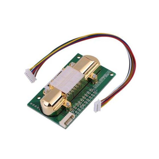 Darmowa wysyłka czujnik NDIR CO2 MH Z14A moduł czujnika podczerwieni dwutlenku węgla, port szeregowy, PWM, wyjście analogowe z kablem MH Z14