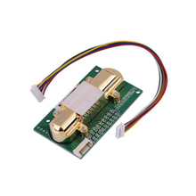 Free shipping NDIR CO2 SENSOR MH Z14A infrared carbon dioxide sensor module,serial port, PWM, analog output  with cable MH Z14