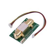 Livraison gratuite NDIR capteur de CO2 MH Z14A module de capteur de dioxyde de carbone infrarouge, port série, PWM, sortie analogique avec MH Z14 de câble