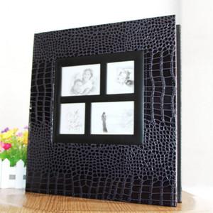 Image 2 - 6inch 400 Sheets Photos Book Wedding Picture Album PU Leather Albums Cover Scrapbook Anniversary Gift Large Size Photo Albums