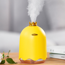 Portable Car USB Air Humidifier Ultrasonic Mist Maker Fogger High Quality Essential oil Diffuser Funny Yellow Duck Aroma Difusor цена 2017