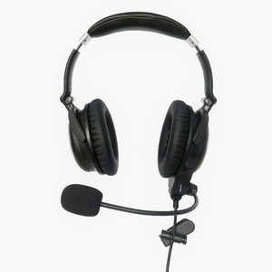 Image 2 - New UFQ A7 ANR aviation headset  SMALL Boss A 20  the same ANR level function BUT much lighter and more comfortable