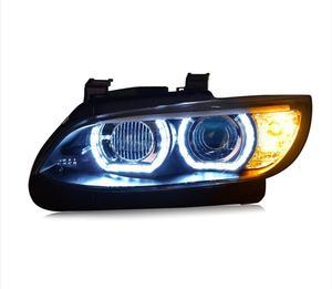 2pcs 2006 ~ 2012y автомобильный светильник bupmer, для BMW E92 E93, головной светильник, автомобильные аксессуары, BMW E92 E93 HID xenon fog для фар