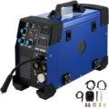 Freies verschiffen für EU TIG MIG Inverter schweißgerät MAG MMA E Hand FCAW Elektrode Schweißen Maschine 230V 200A-in Gas-Schweißgeräte aus Werkzeug bei