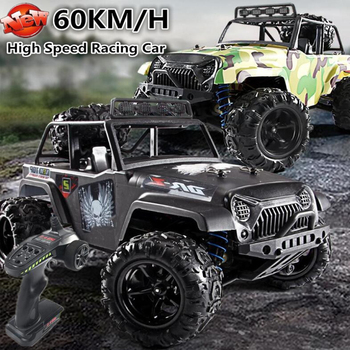 Professional Brushless Off Road Waterproof Racing Car 2.4G 1/18 60KM/H 4WD Drive Remote Control Buggy Car Camion RC Monster Car image