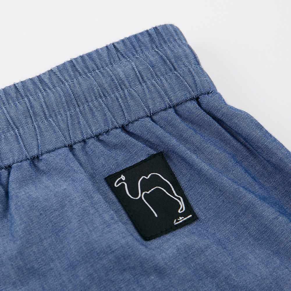 Metersbonwe 2020 גברים של הקיץ מקרית קצר מכנסיים כותנה אופנה בציר חוף מכנסי חג מוצק צבע לנשימה בתוספת גודל