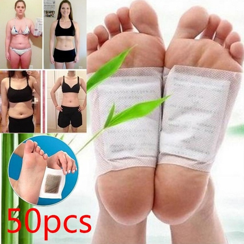 50 Pcs Detox Foot Patch Improve Sleep Slimming Foot Care Feet Stickers Weight Loss Products Effective Anti Cellulite Fat Burning