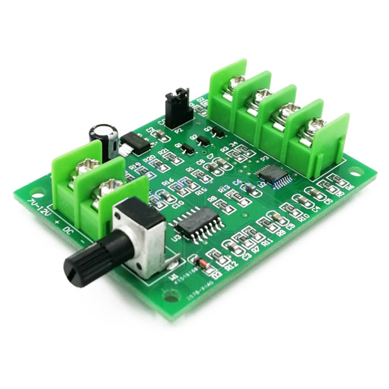 <font><b>5V</b></font>-<font><b>12V</b></font> <font><b>DC</b></font> <font><b>Brushless</b></font> <font><b>Driver</b></font> <font><b>Board</b></font> Controller For Hard Drive Motor 3/4 Wire New image