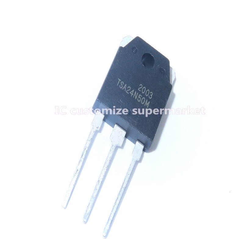 5 шт./лот Новый TSA24N50M TO-3P 500V 24A триодный транзистор