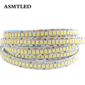 5M LED Strip 2835 SMD DC 12V 24V 300/600/900/1200 Leds waterproof IP65 Flexible Ribbon String LED Tape lights Warm White RGB